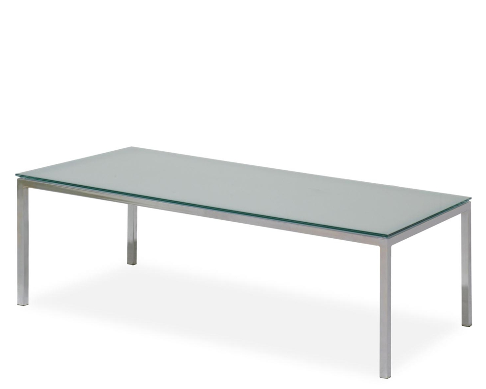 Chicago Glass Coffee Table All Office