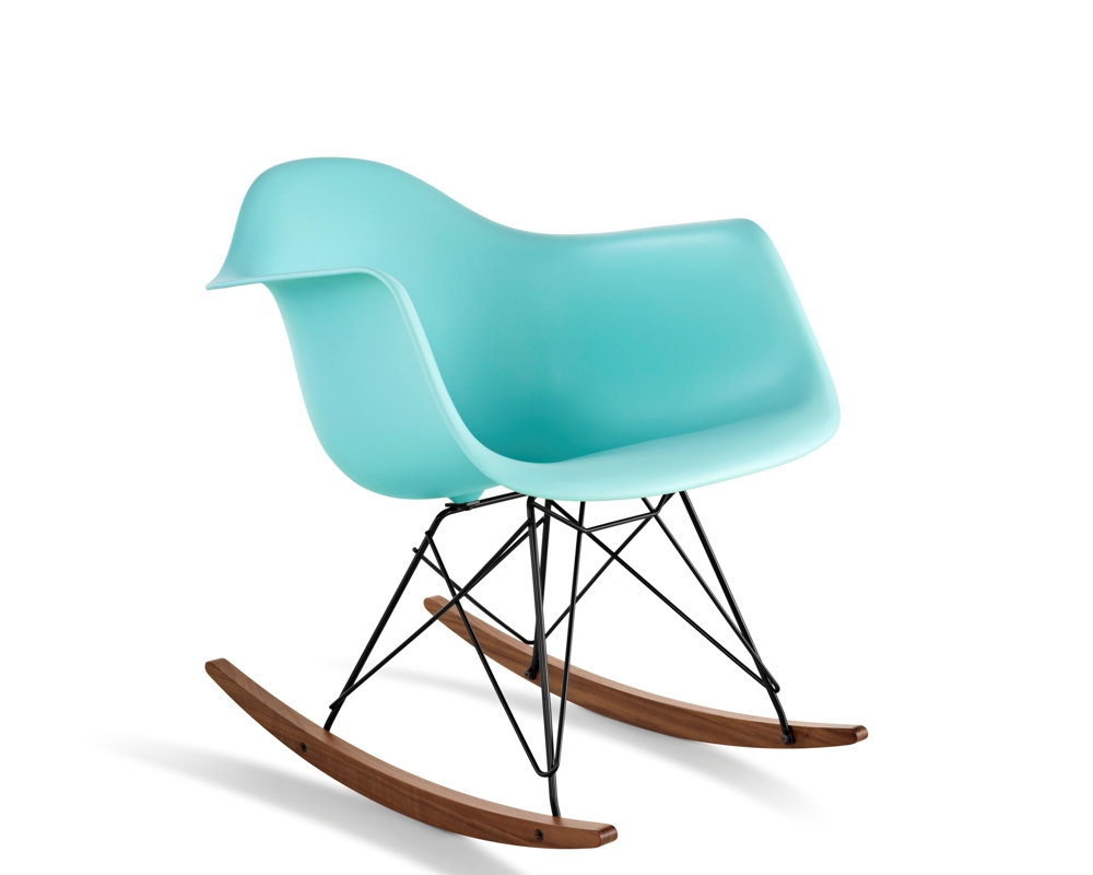 Eames plastic rocking chair - Eames Plastic Chairs