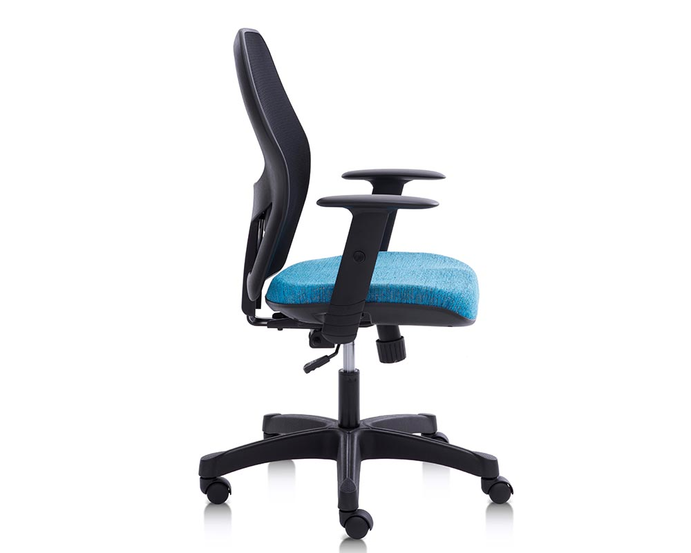 modway blk chair office finesse mid back store black products eei modish
