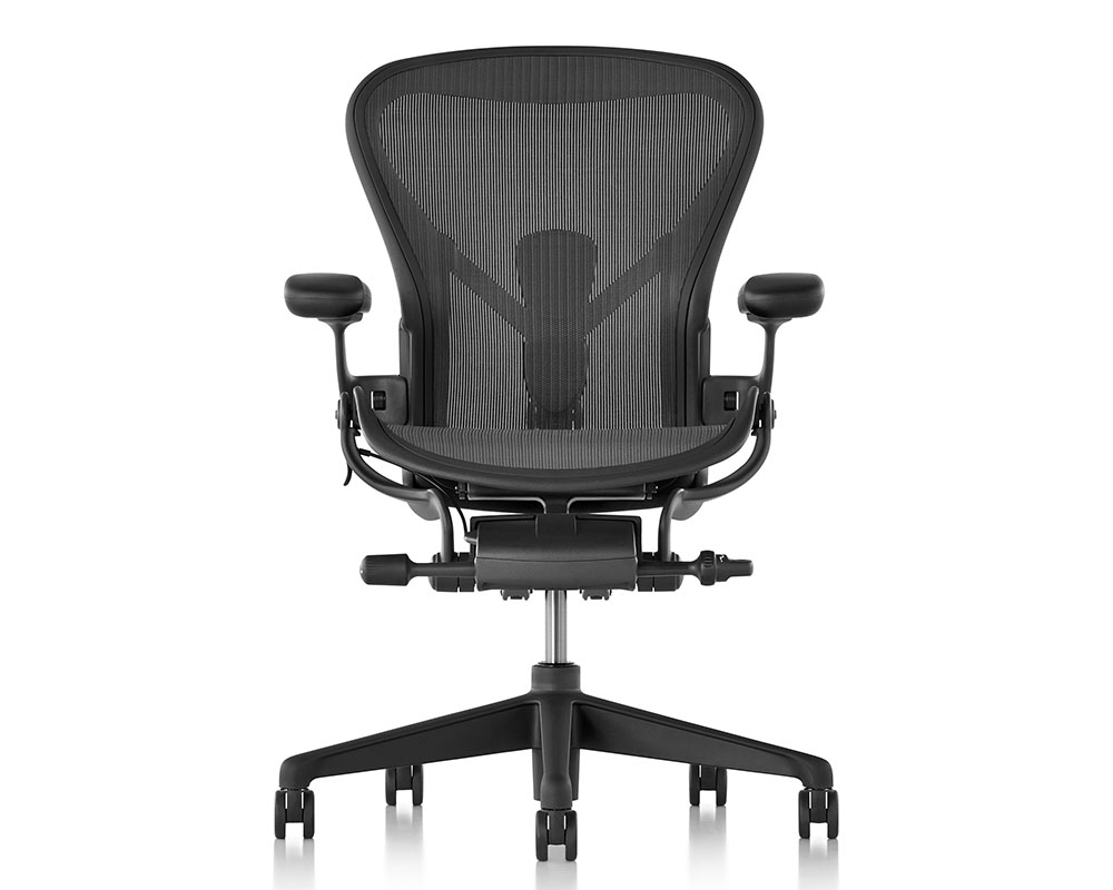 new aeron chair herman miller all office. Black Bedroom Furniture Sets. Home Design Ideas