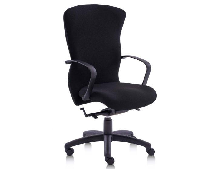 Pegasus Contract H/B Synchro Chair Black