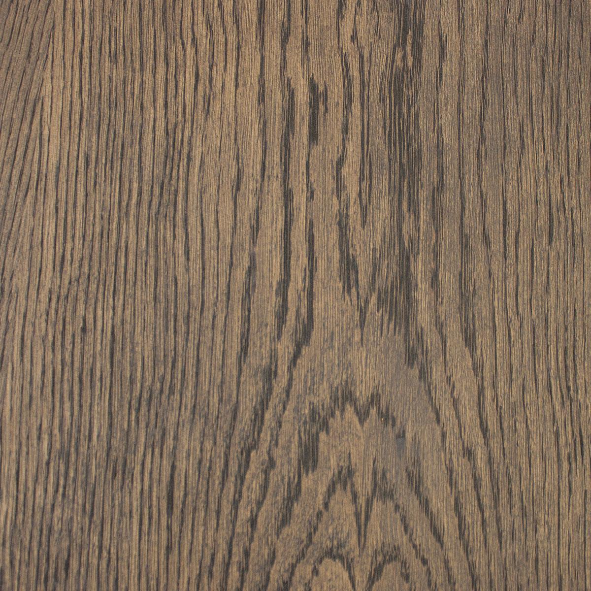 Loop Coffee Table Top | Oak Monocoat Top | Charcoal Swatch