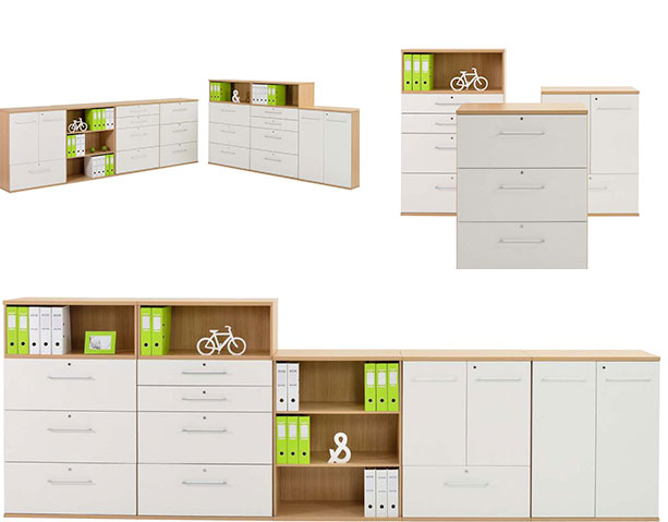 Evolve Filing Office Cabinets