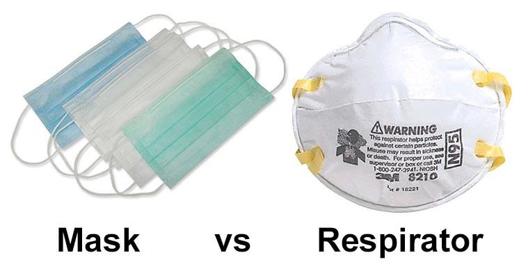 Masks and respirators