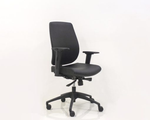 Connect-Oprators-Chair-Black-Bonded-Leather-Front