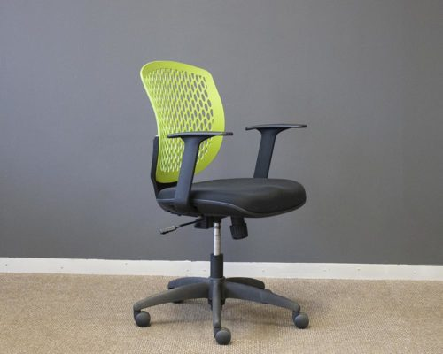 Filo-Chair-Green-Back-Black-Seat-Front