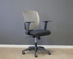 Filo-Chair-Grey-Back-Black-Seat-Front
