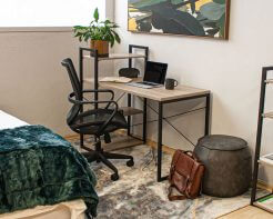 Studio Home Desk with Wall Unit | Home Office | Home Office Desk