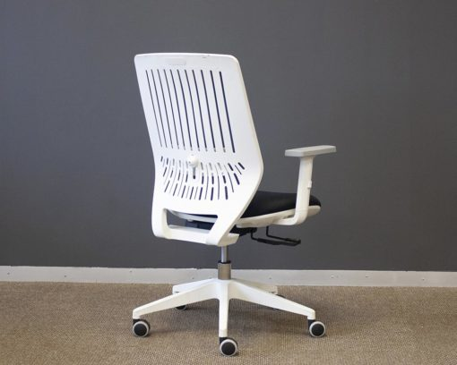 Motion-Chair-Grey-Mesh-Back-and-Black-Seat-White-Frame