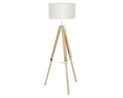 Eurolux FL191NB Lantada Floor Lamp 660mm Natural/Beige