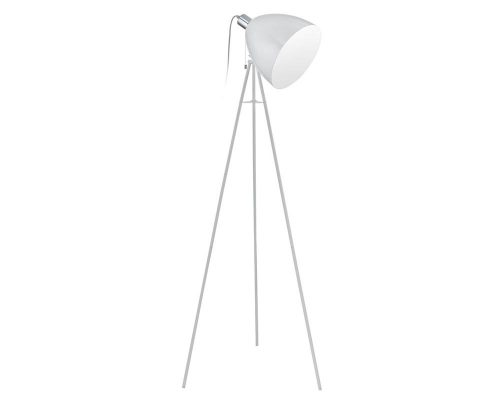 Eurolux FL175 Don Diego Floor Lamp 600mm White