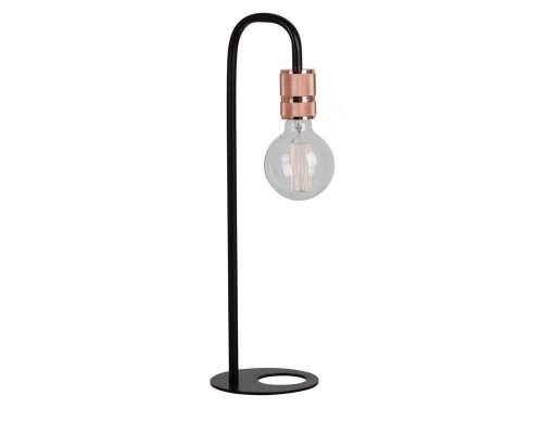 Eurolux T548 Seville Table Lamp 150mm Black/Copper