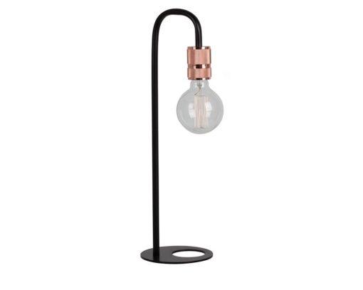 Eurolux T548 Seville Table Lamp 150mm Black/Copper