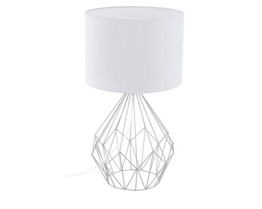 Eurolux T148W Pedregal 1 Table Lamp 345mm White