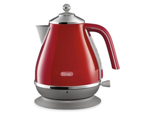 DeLonghi Icona Capitals Kettle Tokyo Red