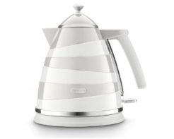 DeLonghi Avvolta Class Kettle - Graceful White