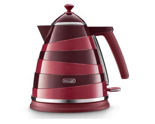 DeLonghi Avvolta Class Kettle - Charming Red