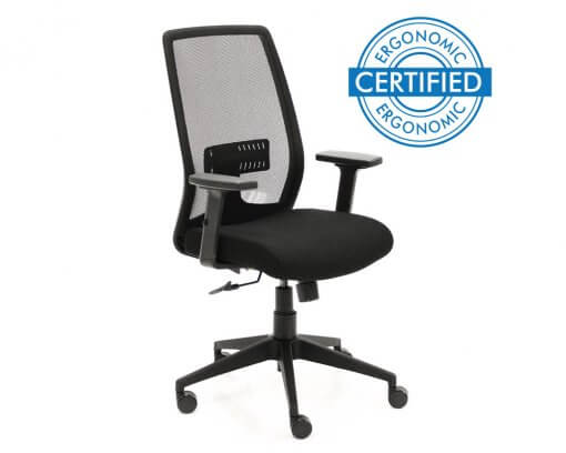 Tempo Ergonomic Office Chair | Home Office Chair Front