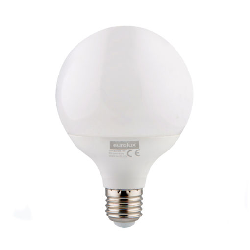 Eurolux G24CW LED 95mm Mini Maxi Globe E27 15w Cool White