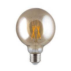 Eurolux G514ES LED Amber Filament Mini Maxi E27 4w Warm White