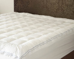 Linen House Mattress Topper White