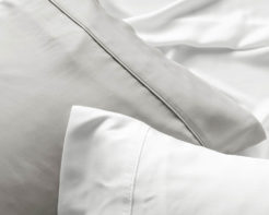 Linen House Pillowcase Elka Bamboo Cotton White