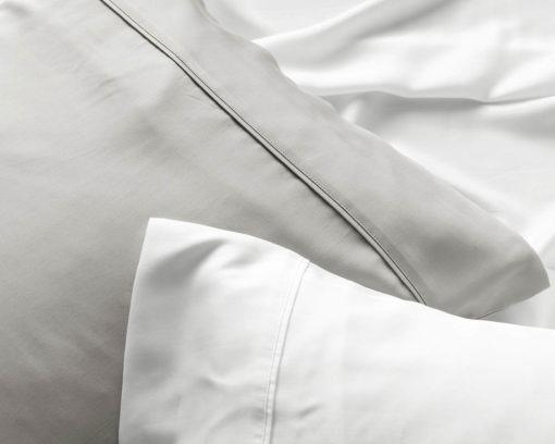 Linen House Pillowcase Elka Bamboo Cotton White