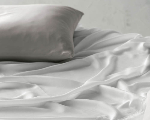 Linen House Pillowcase Elka Bamboo Cotton Silver