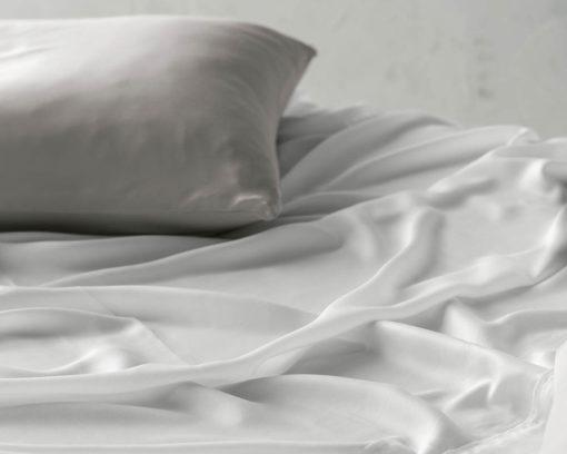 Linen House Pillowcase Elka Bamboo Cotton Silver