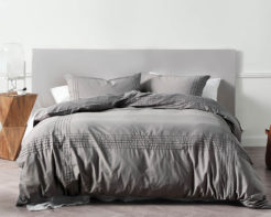Linen House Mayfair Grey Duvet Cover Set