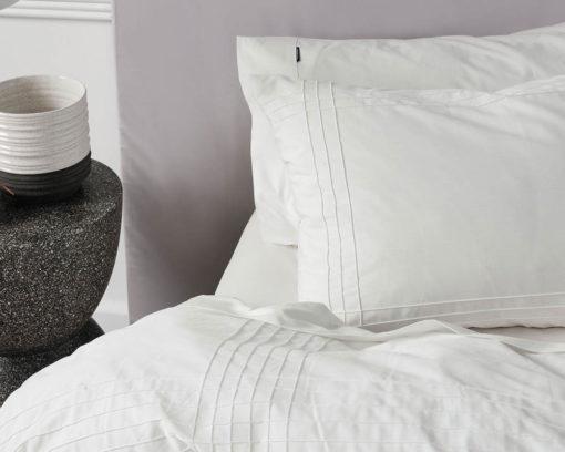 Linen House Mayfair White Duvet Cover Set