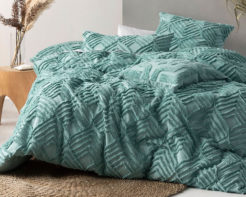 Linen House Duvet Cover Set Ramona Aqua