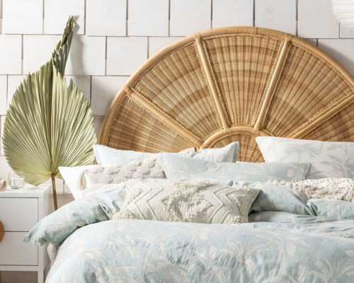 Linen House Duvet Cover Set Tropea Aqua