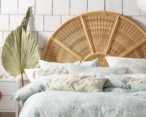 Linen House Duvet Cover Set Tropea Aqua