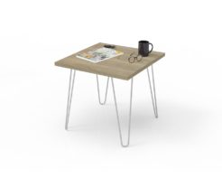 Loop Square Coffee Table 600x600mm - Normandy Styled
