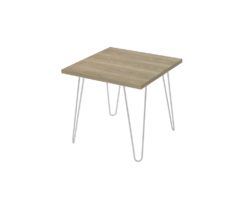 Loop Square Coffee Table 600x600mm - Normandy unstyled