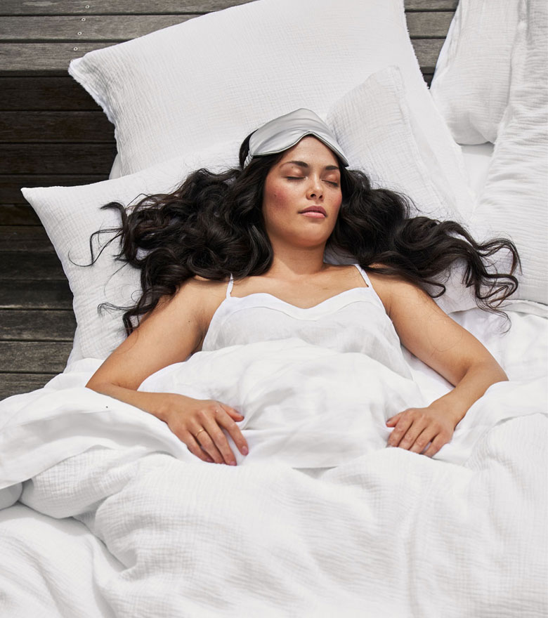 Woman sleeping | Tips For A Better Night's Sleep