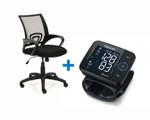 Vivid Chair and Beurer Wrist Blood Pressure Monitor BC 54