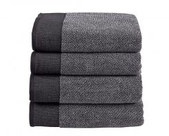 Plush Towel Charcoal