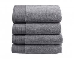 Plush Towel Grey