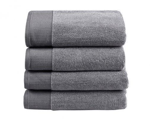 Plush Towel Grey