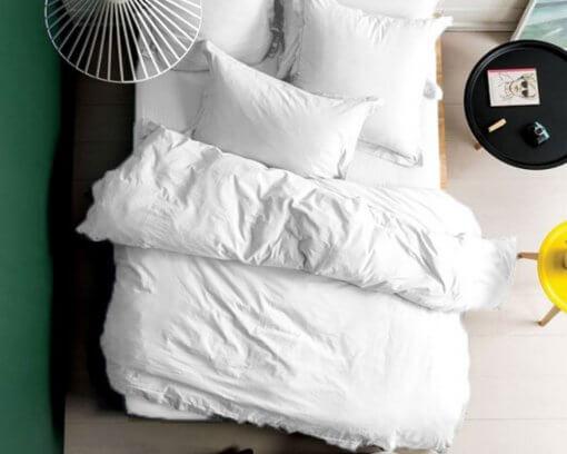 250TC White Oxford Duvet