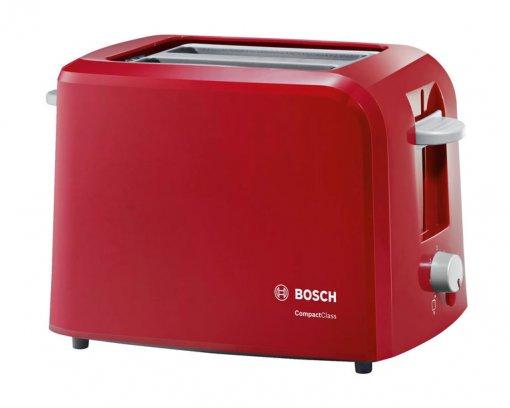 Bosch Toaster CompactClass 980 w Red TAT3A014