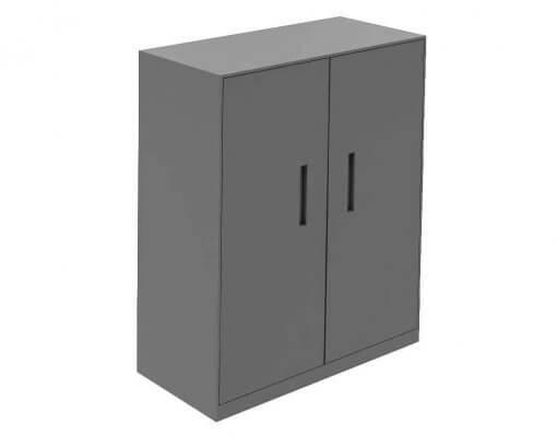Solidline Hinge Door Cabinet Anthracite