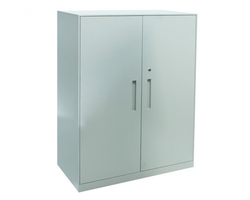 Solidline Hinged Door Cabinet Grey