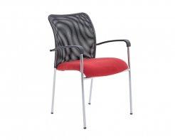 Torino Arm Chair Burgundy