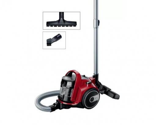 Bosch Serie 2 Bagless Vacuum Cleaner Red BGC05AAA2