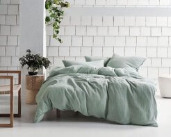 Linen House Elysian Stillwater Duvet Cover Set