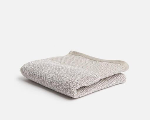 Linen House Plush Bath Sheet Oatmeal
