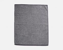 Linen House Plush Marle Bath Sheet Charcoal